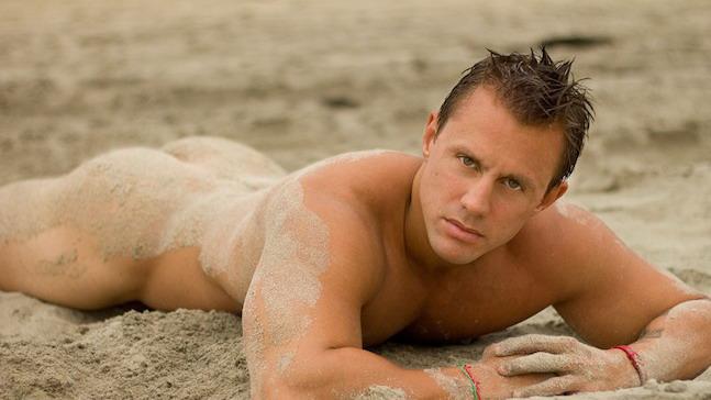 Nude Beach Naked Men